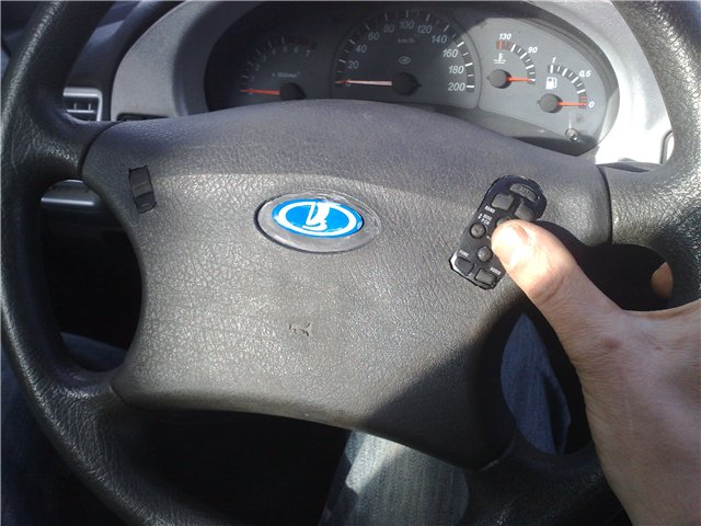 Кнопки руль своими руками